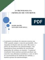 Nano Tecnologia Na Produção de Concretos