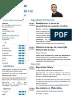 Currículo - Edson Augusto Abou Hatem de Liz