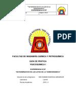 Septima Practica Fisicoquimica i