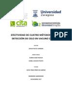 EFECTIVIDAD DE CUATRO MÉTODOS DE DETECCIÓN DE CELO EN VACUNO