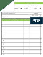 Fprrhh-002-02 Registro de Asistencia Capacitación