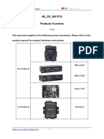 4G 2G NB DTU Products Functions V1.9 20191106