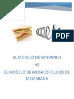 El Modelo de Sandwich vs El Modelo Fluido de Membrana