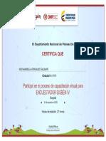 Encuestador_Certificado Sisben Bella