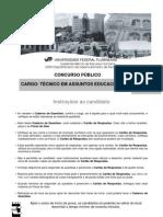 UFF-2010-Prova-TecnicoemAssuntosEducacionais