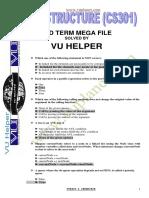 Cs301 Mid Term Mega File