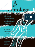 C. Strathausen & W. Connolly- A leftist ontology. Beyond relativism and identity politics (2009)