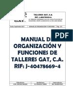 Manual de Organizacion y Funciones de Talleres Gat (1)