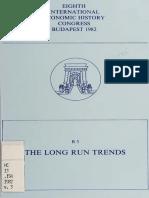 Eighth International Economic History Congress, Budapest v 3-1982