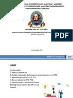 Presentación Informa Pec