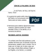 CELEBRACIÓN DE LA PALABRA  DE DIOS.docx
