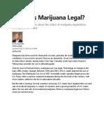 Where is Marijuana Legal