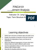 Term structure