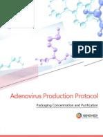 Adenovirus Production Protocol