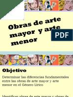 OBRAS DE ARTE MAYOR Y MENOR - copia.ppt