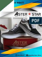 Zapatillas Aster 2019 -2020.pedidos Cel
