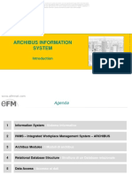 Esempio Sistema Informativo_archibus