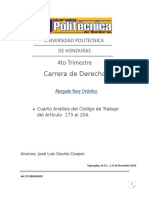 Análisis Laboral de Honduras