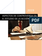 Aspectos de Controversia en El Cpp Peruano