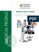Medical Mixtures CGA 500 Male to Oxygen Female CGA 540 Western Adaptor 872