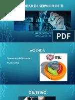 ITIL Sesión 9-1