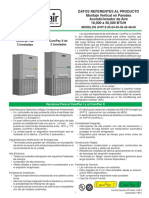 Datos técnicos a/a Marvair ComPac I de 3 toneladas ComPac II de 3 toneladas