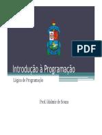 Introdução a Programacao - Logica de Programacao