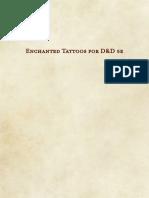 Enchanted Tattoos for D&D 5e