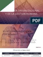 Psicología Organizacional y de La Gestión Humana (1)