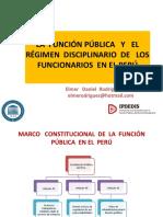 Regimen Disciplinario de Los Funcionarios en El Perú