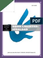 DDHH-Libertad e Igualdad
