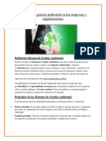 Gestion Ambiental en Empresa