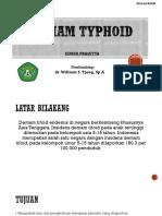 Tutorial Tifoid