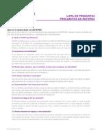 Preguntas Frecuentes My WIFI Flash Mobile by RETEMEX