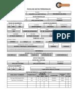 Formato Ficha Datos
