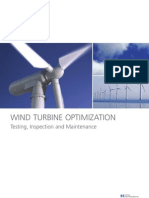 Wind Turbine Optimization