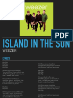 island in the sun - lyric poetry presentation example