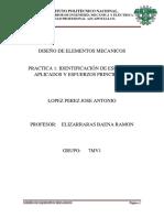 Practica 1 Diseño Elemnetos mecanicos