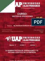 Semana 1- Go-la Administracion de Operaciones y El Sistema Logistico de La Empresa-2019-2b