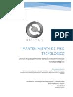 00 - Manual Procedimiento Mantenimiento (1)