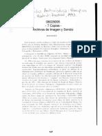 LODOLINI - Archivística- Principios y Problemas Biografia y Cap 1