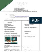 Detailed Lesson Plan in English (Kindergarten)
