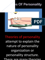 Chapter 10 Theories of Personality and Methods of Studying Personality (2)