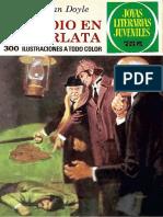 Joyas Literarias Juveniles - 264 - Estudio en Escarlata