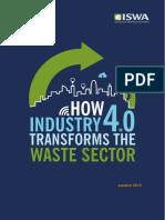 Como a industria 4.0 transforma o setor de residuos