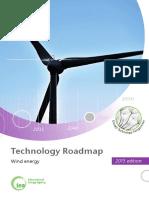 Technology Roadmap Wind Energy