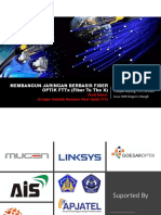 Membangun Jaringan Berbasis Fiber Optik Fttx