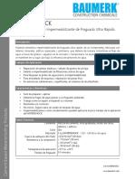 Watershock Mortero Impermeabilizante Ultra Rápido Fraguado (Waterplug)_TDS (1)