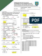 matematika - Penilaian Tengah Semester