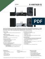 X-HM76 manual